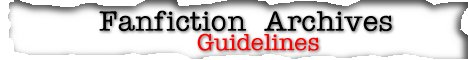 FanFiction Guidelines Copyright � 1999 Dolphin Web Designs